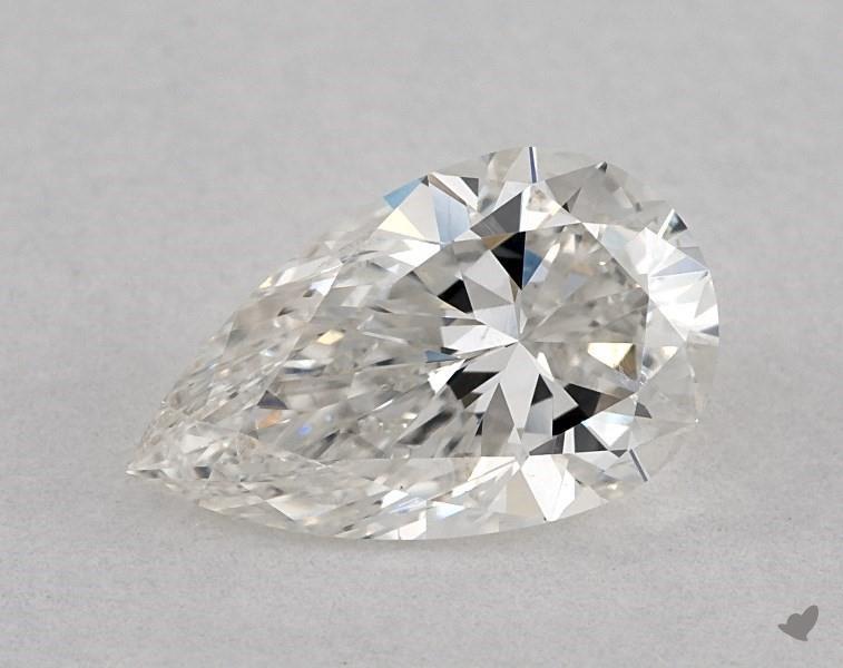 0.90 ct Pear Shape Diamond : G / SI2