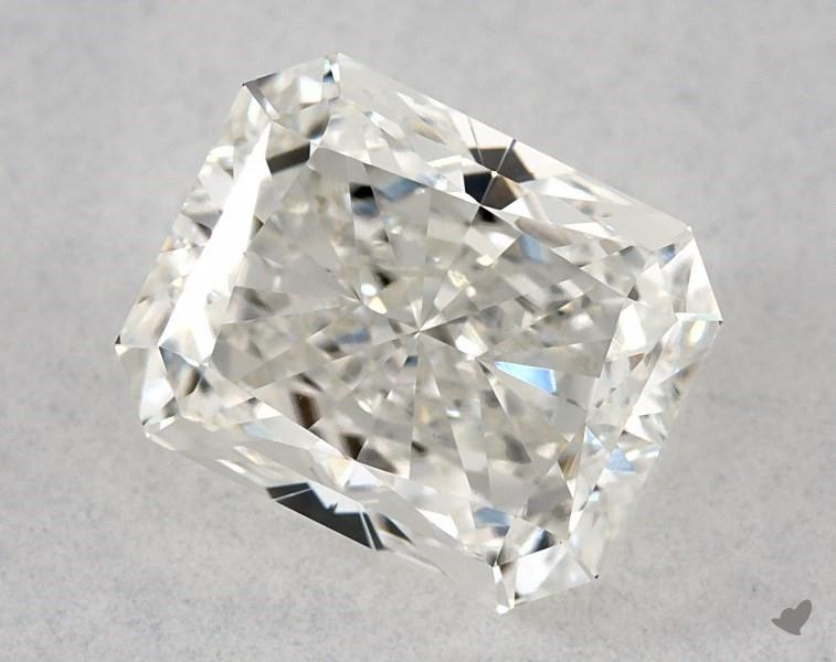 0.93 ct Radiant Diamond : G / SI1