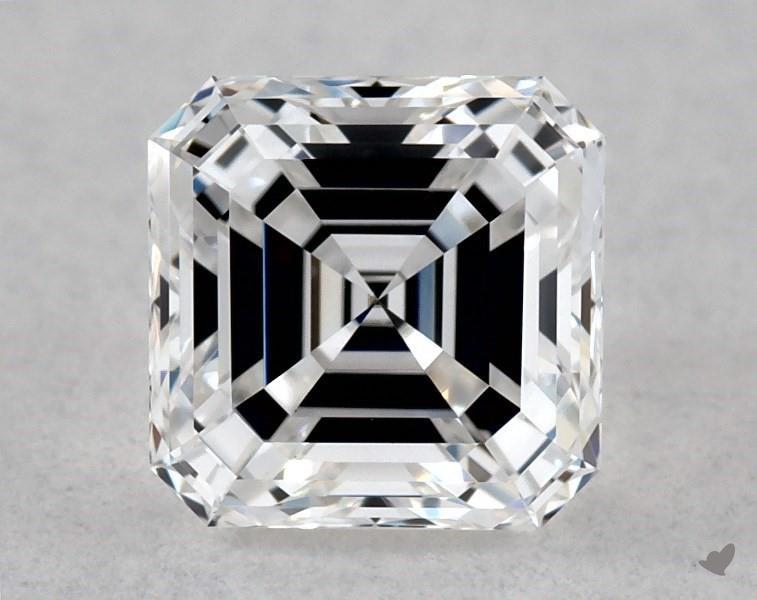 0.48 ct Asscher Cut Diamond : D / VVS1