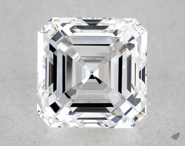 0.51 ct Asscher Cut Diamond : D / VS1