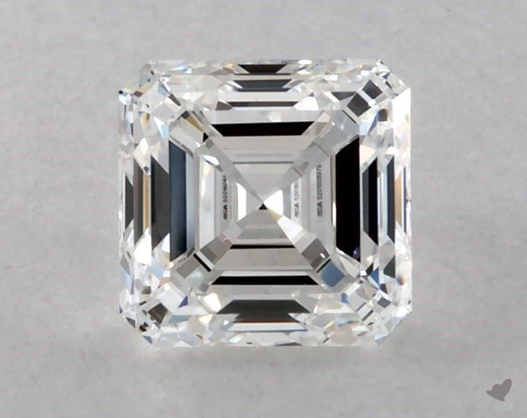 0.60 ct Asscher Cut Diamond : E / VVS1