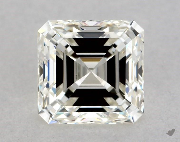 0.70 ct Asscher Cut Diamond : J / VVS1