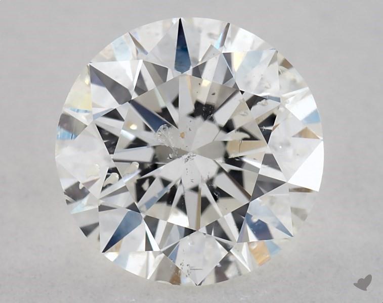 1.00 ct Round Diamond : H / SI2