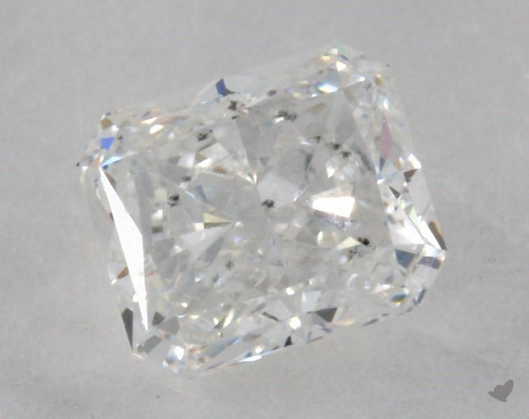 1.01 ct Radiant Diamond : F / SI2