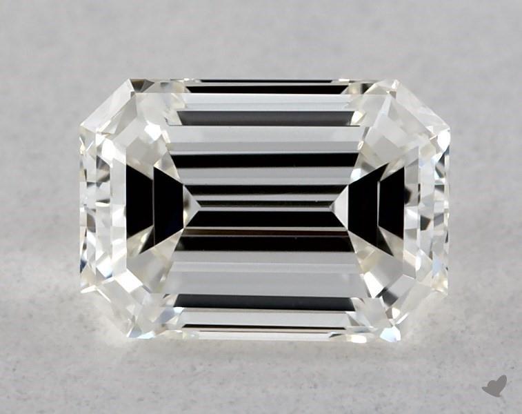 0.35 ct Emerald Cut Diamond : I / VVS1