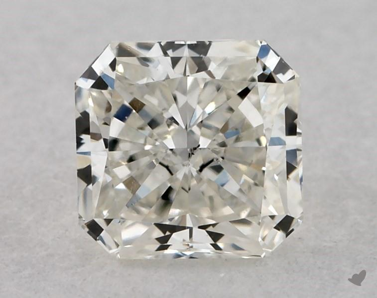 0.41 ct Radiant Diamond : J / VS2