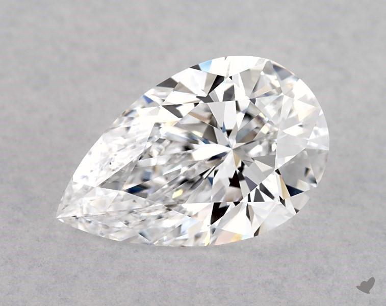 1.50 ct Pear Shape Diamond : D / VS2