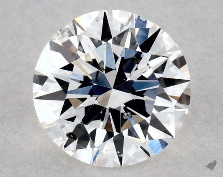 0.30 ct Round Diamond : E / SI2