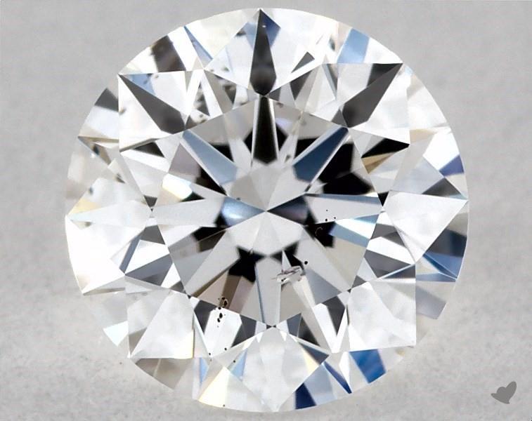 0.42 ct Round Diamond : D / SI2