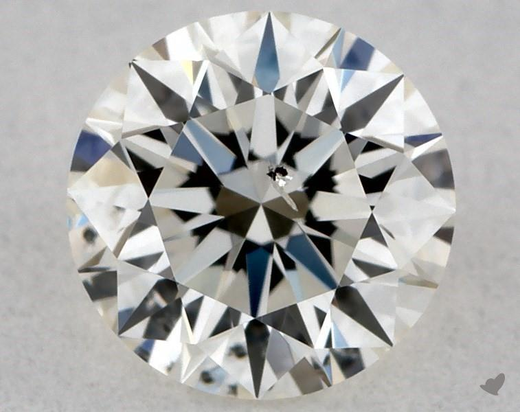 0.30 ct Round Diamond : J / SI2