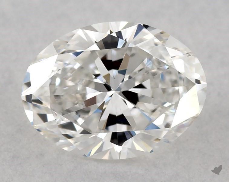 0.70 ct Oval Diamond : F / VS1