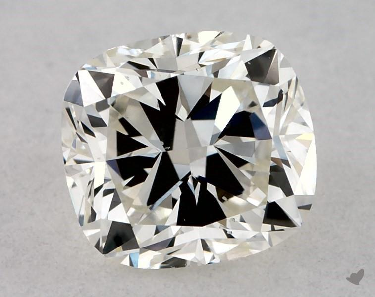 0.51 ct Cushion Cut Diamond : J / SI1