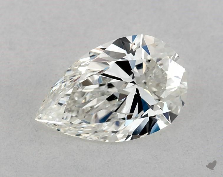 0.73 ct Pear Shape Diamond : H / VS2