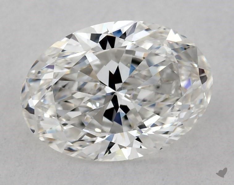 0.81 ct Oval Diamond : F / VVS1