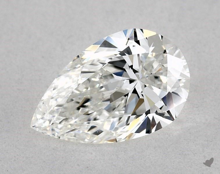 0.80 ct Pear Shape Diamond : F / VS2