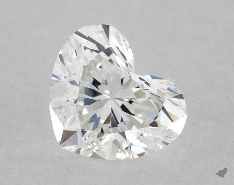 0.41 ct Heart Shape Diamond : F / VS1