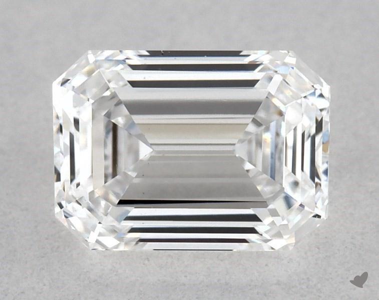 0.65 ct Emerald Cut Diamond : D / VS1