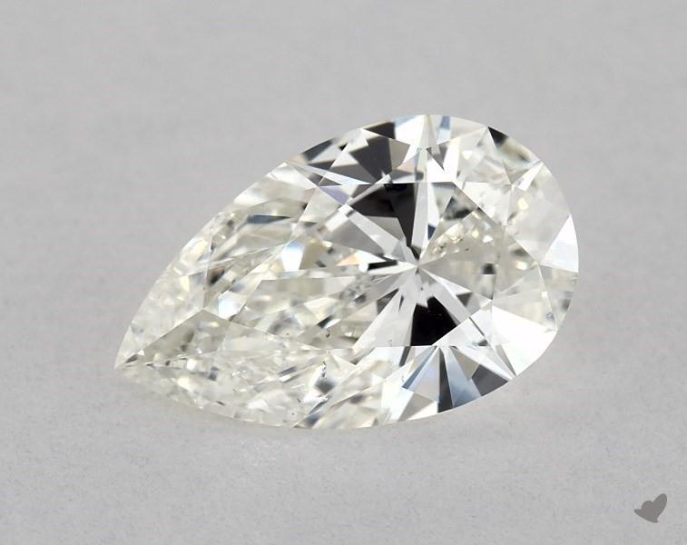 1.00 ct Pear Shape Diamond : J / SI1