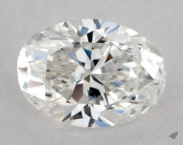 1.00 ct Oval Diamond : F / SI1