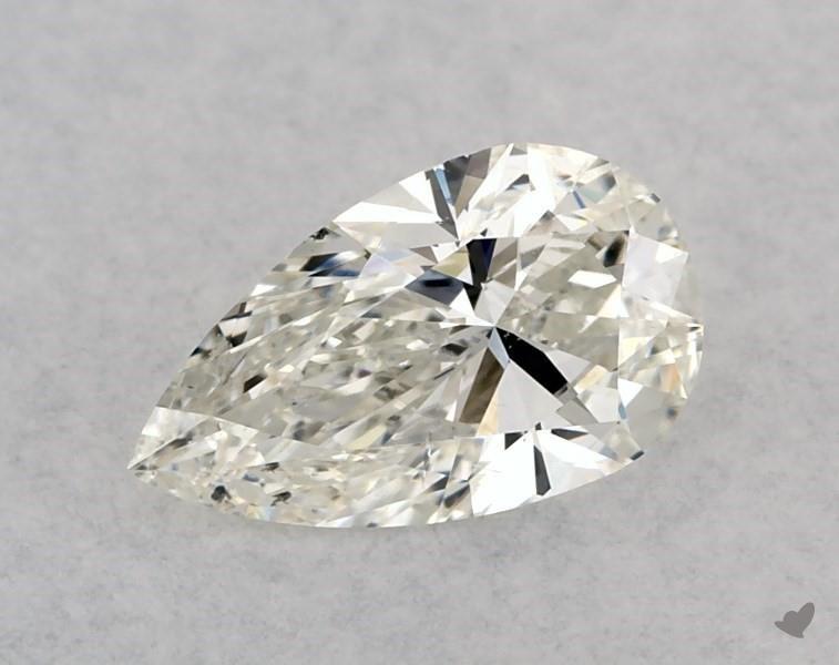 0.50 ct Pear Shape Diamond : J / SI1