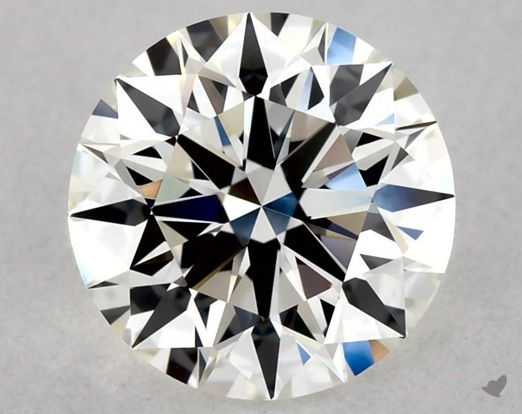 1.01 ct Round Diamond : J / VVS2