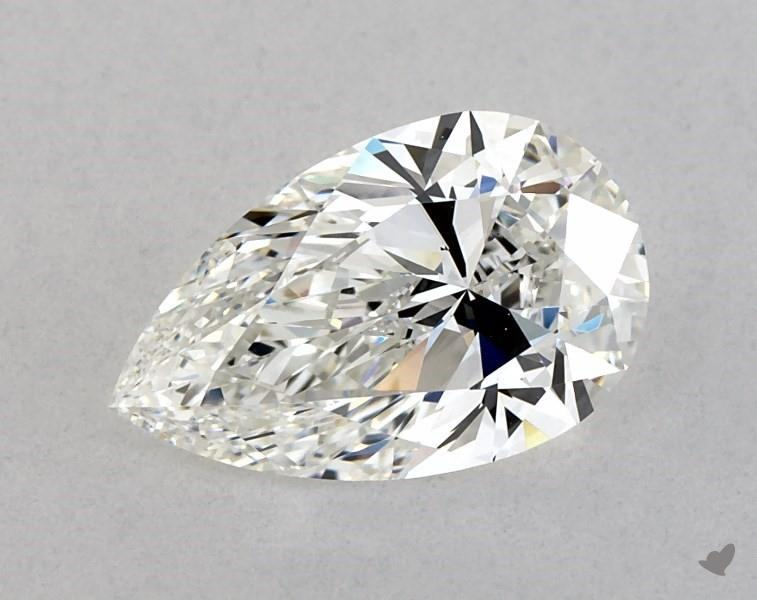 1.51 ct Pear Shape Diamond : G / VVS2