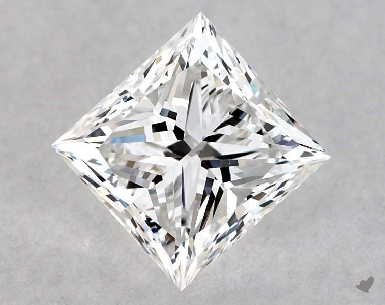 0.90 ct Princess Cut Diamond : E / VS1
