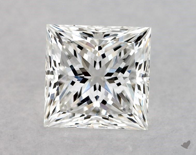 0.91 ct Princess Cut Diamond : F / VS1