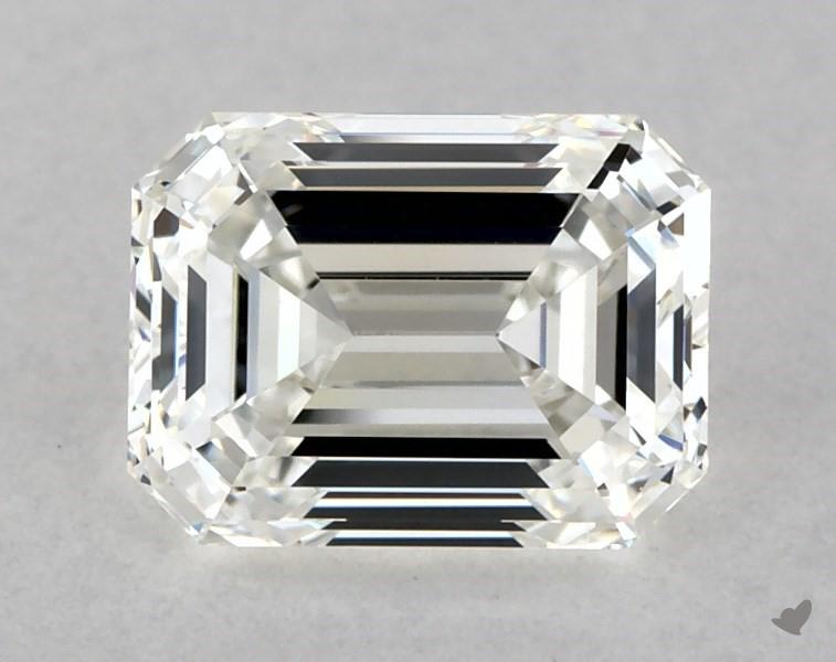 1.20 ct Emerald Cut Diamond : I / VVS1