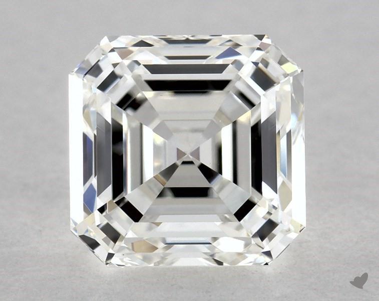 1.20 ct Asscher Cut Diamond : G / VVS2