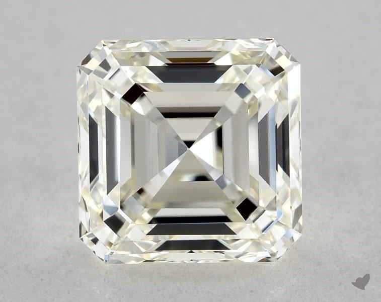 1.20 ct Asscher Cut Diamond : K / VVS2