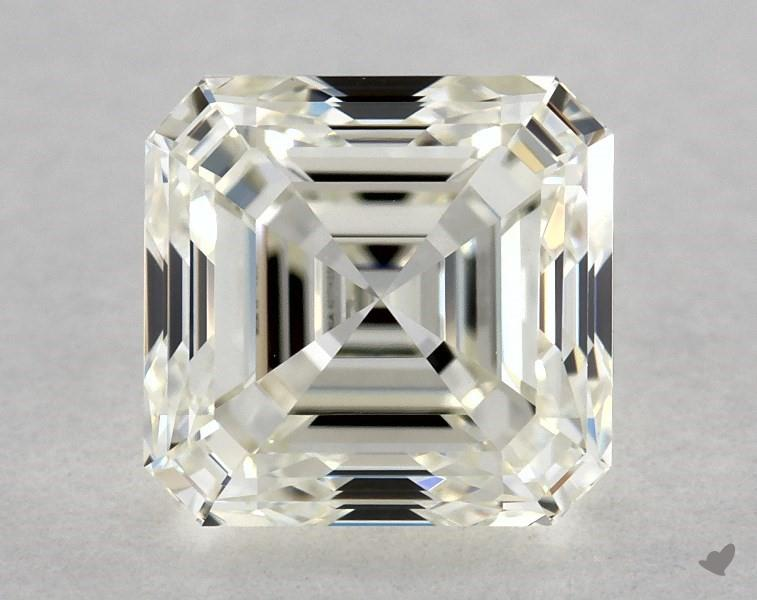 1.20 ct Asscher Cut Diamond : K / VVS2