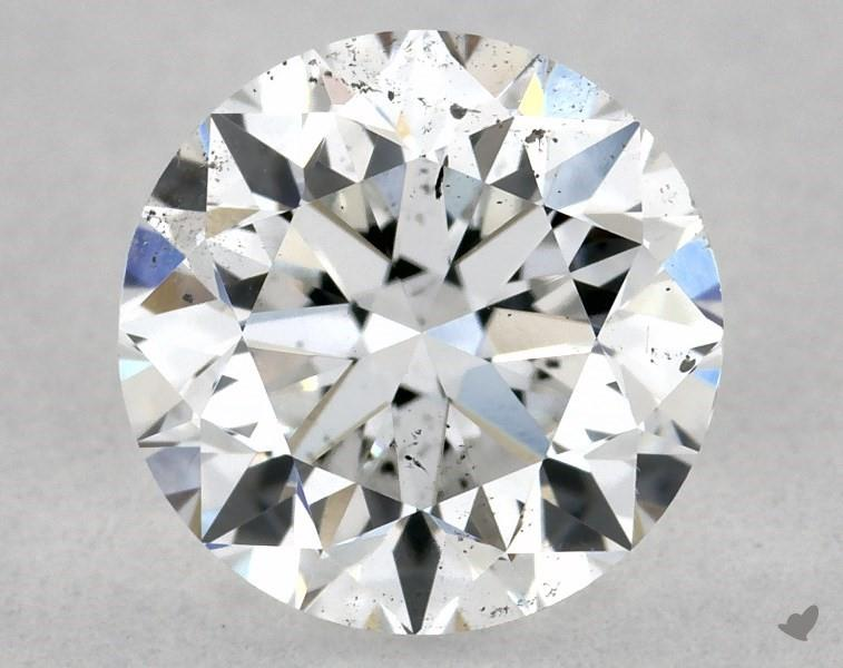 0.72 ct Round Diamond : E / SI1