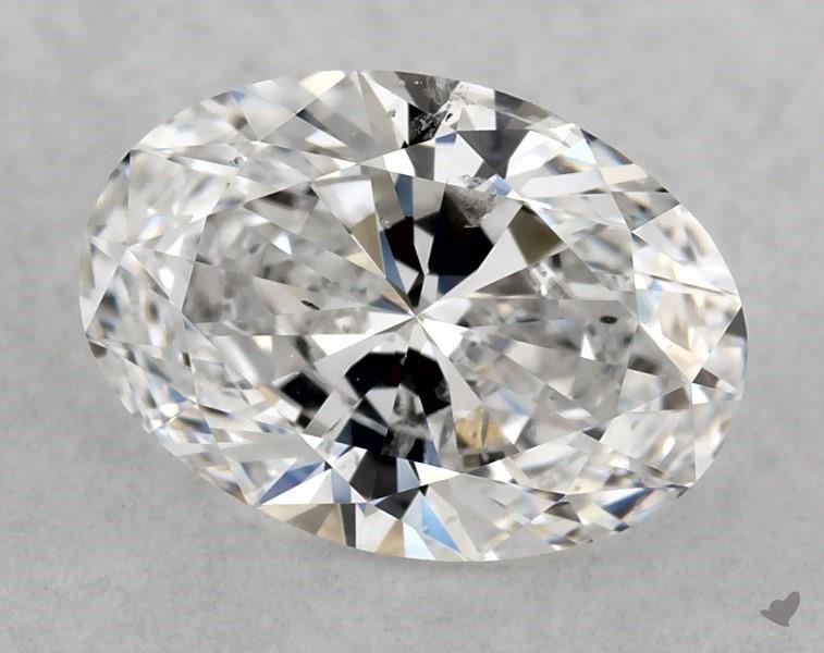 0.90 ct Oval Diamond : E / SI2