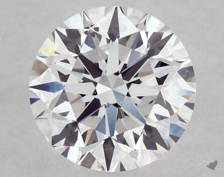 0.70 ct Round Diamond : D / SI1