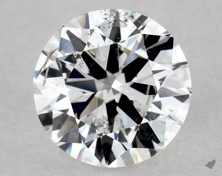 0.50 ct Round Diamond : F / SI2