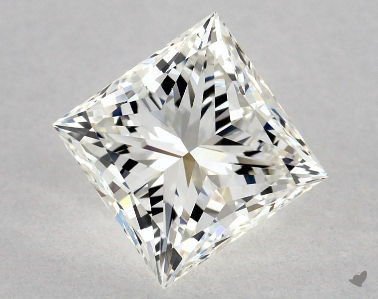 1.20 ct Princess Cut Diamond : J / VVS2