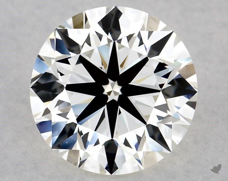 1.70 ct Round Diamond : J / VS1