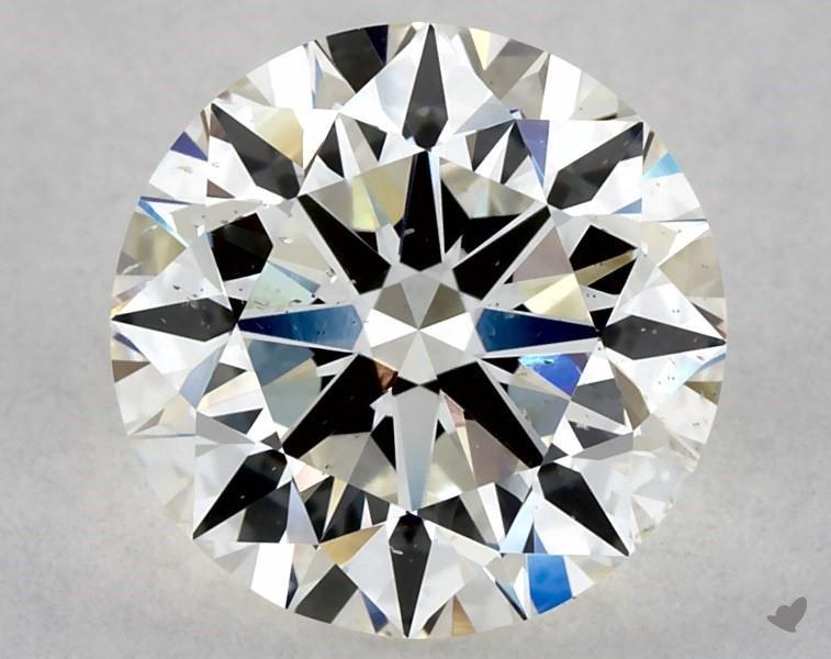 1.80 ct Round Diamond : J / SI1