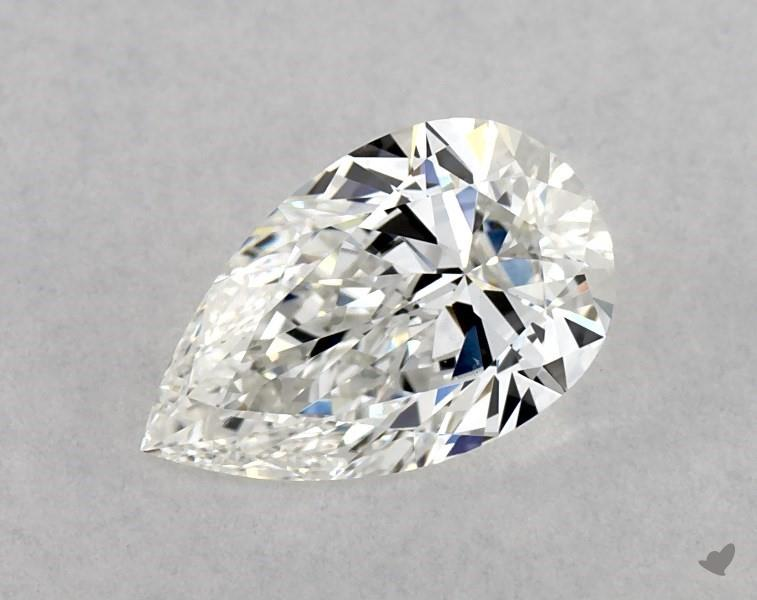 0.70 ct Pear Shape Diamond : G / VS2