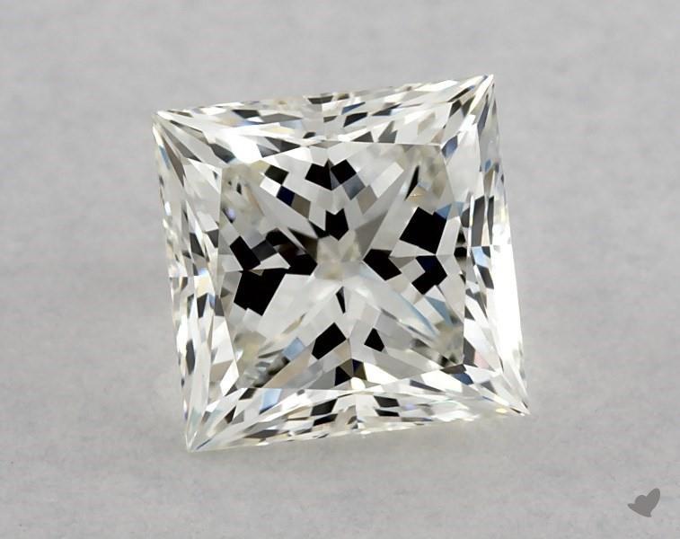 1.25 ct Princess Cut Diamond : J / VS2