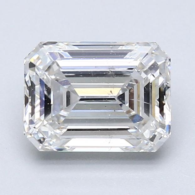1.71 ct Emerald Cut Diamond : G / SI1