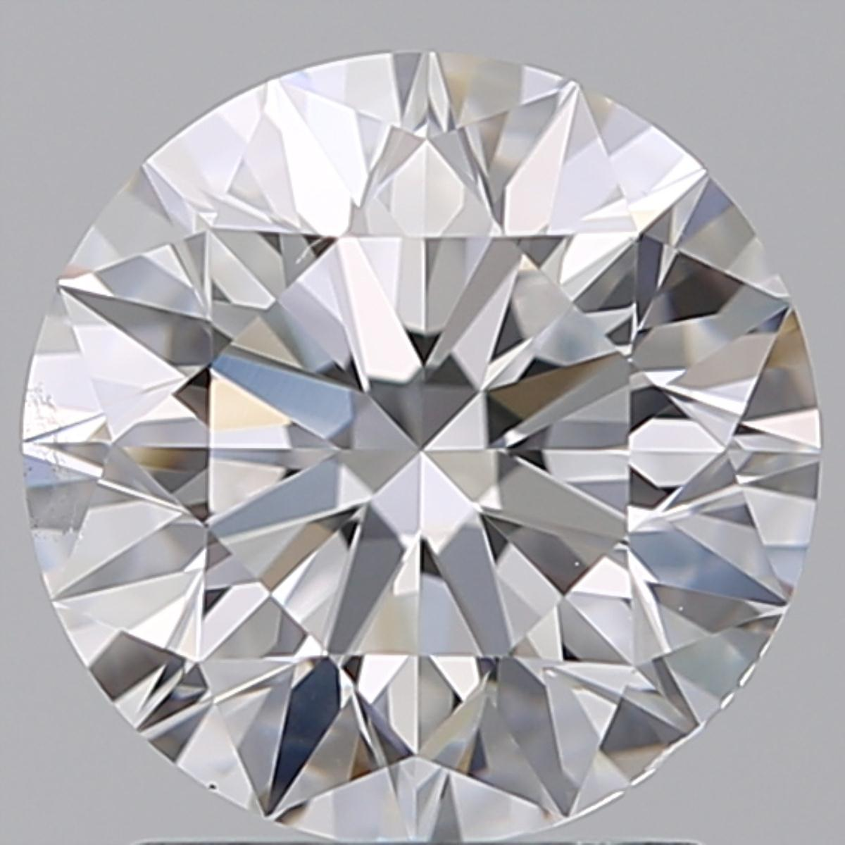 1.70 ct Round Diamond : D / VS2