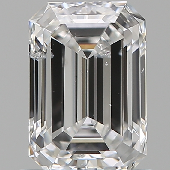0.96 ct Emerald Cut Diamond : E / I1