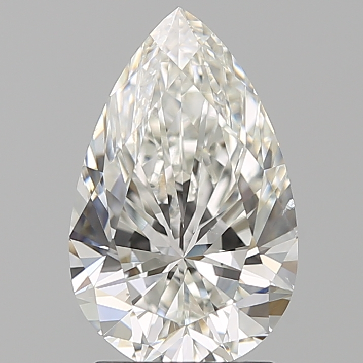 1.90 ct Pear Shape Diamond : H / SI1