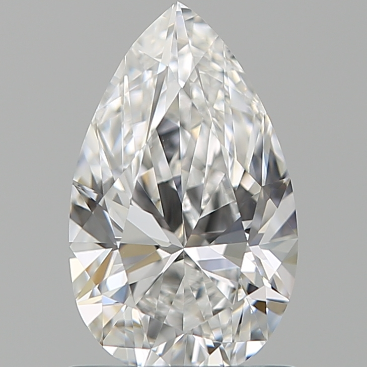 1.00 ct Pear Shape Diamond : E / VVS2