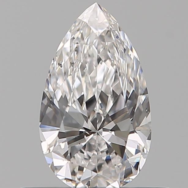 0.42 ct Pear Shape Diamond : E / SI1
