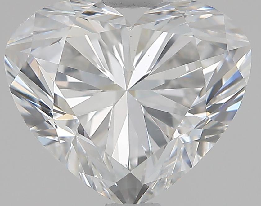 1.90 ct Heart Shape Diamond : E / VS2