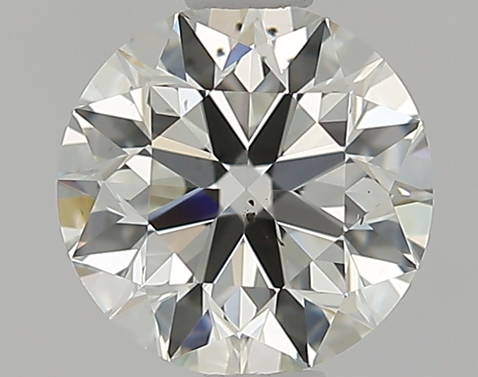 0.90 ct Round Diamond : J / SI1