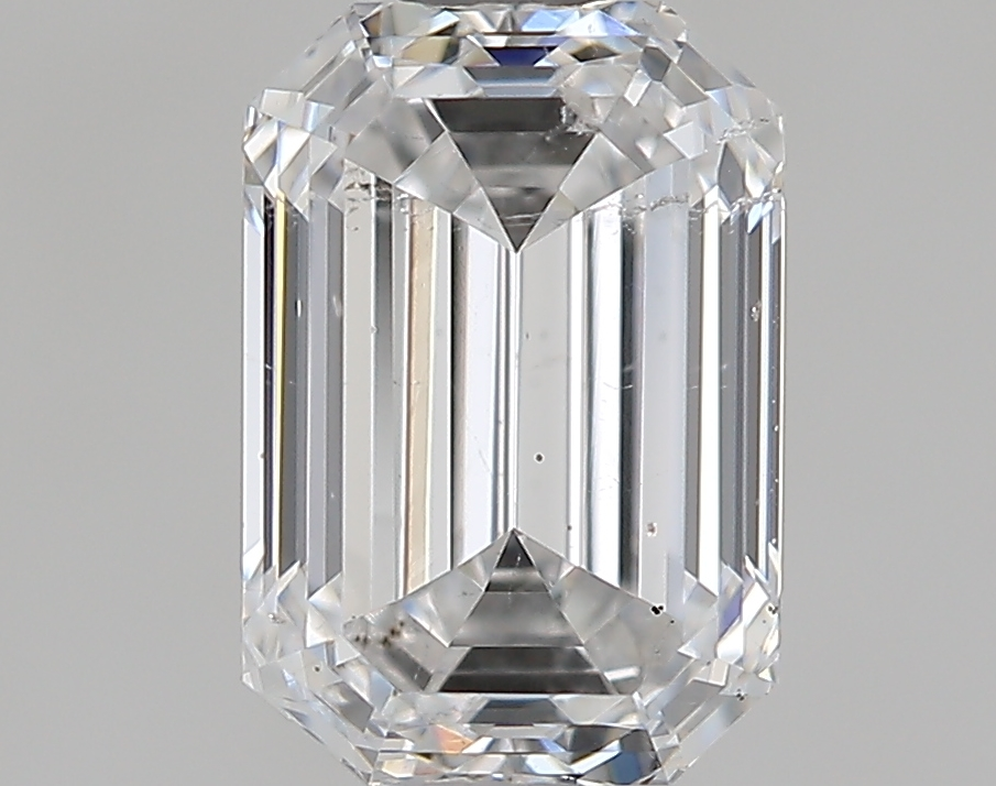 0.93 ct Emerald Cut Diamond : E / SI2